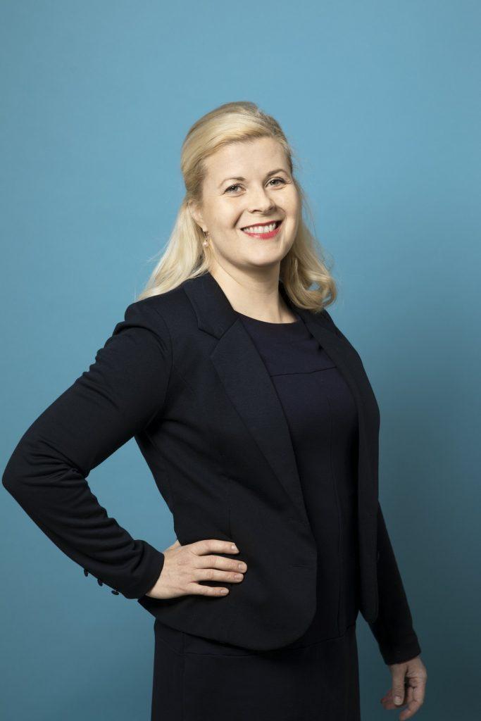 Unifin kehittämispäällikkö Eeva Nyrövaara.