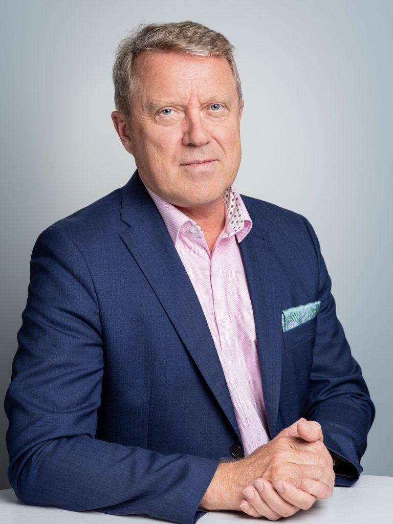 Unifis styrelsemedlem Jukka Kola, rektor på Åbo universitet