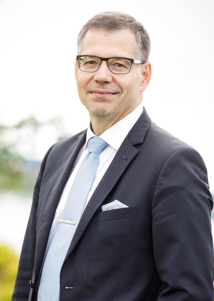 Keijo Hämäläinen, rektor för Jyväskylä universitet, ordförande för Unifis styrelse